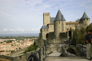 Carcassone, was founded by the Visigoths in the fifth century (1400s).